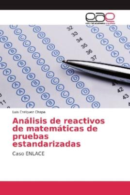 Análisis de reactivos de matemáticas de pruebas estandarizadas
