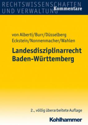 Landesdisziplinarrecht (LDR) Baden-Württemberg, Kommentar