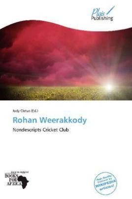 Rohan Weerakkody