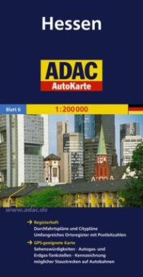 ADAC AutoKarte Hessen