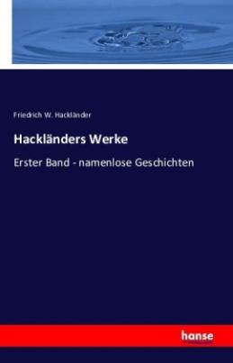 Hackländers Werke