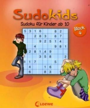 Sudoku für Kinder ab 10. Block.4