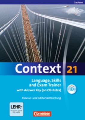 Langugae, Skills and Exam Trainer with Answer Key (on Extra CD-ROM), Ausgabe Sachsen
