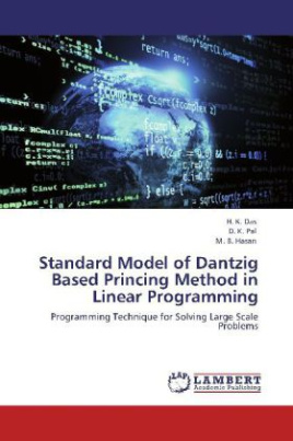 Standard Model of Dantzig Based Princing Method in Linear Programming
