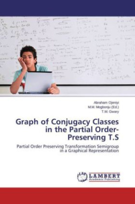 Graph of Conjugacy Classes in the Partial Order-Preserving T.S