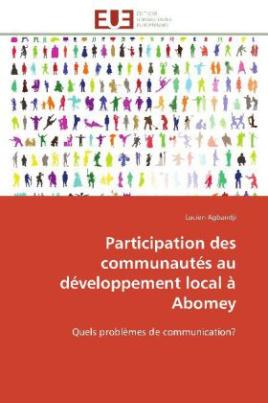 Participation des communautés au développement local à Abomey