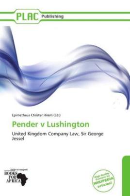 Pender v Lushington