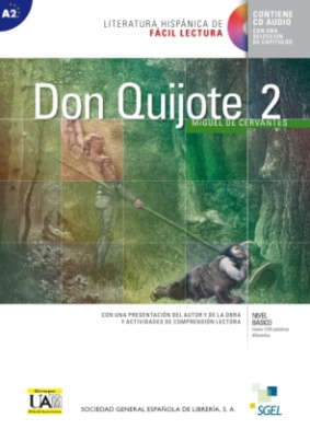 Don Quijote de la Mancha, m. Audio-CD. Vol.2