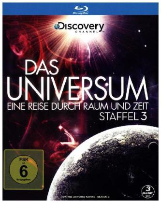 das universum eine reise durch raum und zeit 3 blu rays. Black Bedroom Furniture Sets. Home Design Ideas
