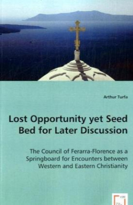 Lost Opportunity yet Seed Bed for Later Discussion