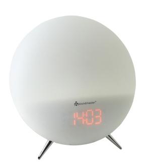 Uhrenradio in weiß mit Farbwechselfunktion