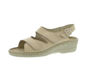 Sandalen aus Vollrindleder Größe 40