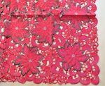 Tischdecke rote Blumen 85*85 cm
