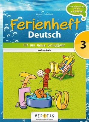 Deutsch Ferienheft, 3. Klasse