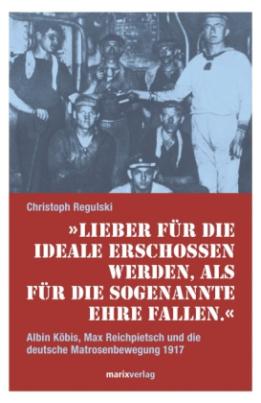 """""""Lieber für die Ideale erschossen werden, als für die sogenannte Ehre fallen."""""""