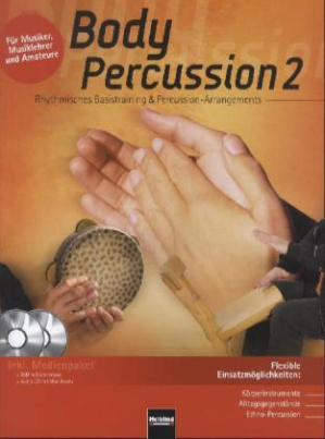Body Percussion, m. Audio-CD + DVD. Tl.2