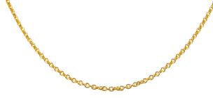 Ankerkette in 585 /Gelbgold 42 cm
