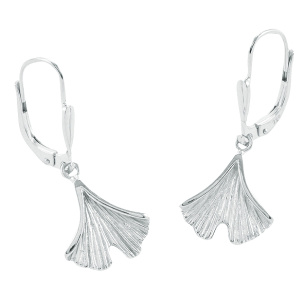 Ohrhänger 925- Silber im Ginkostil