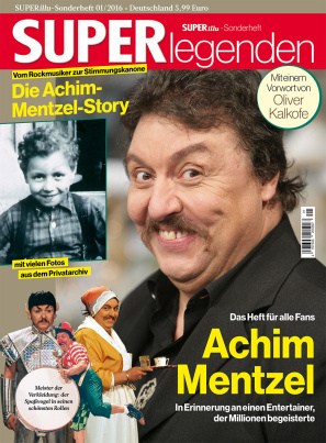SUPERlegenden Achim Mentzel (Heft + CD)