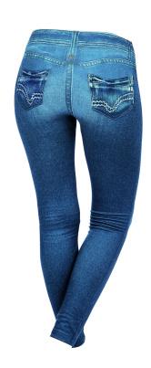Leggings für Damen im Jeanslook Größe L
