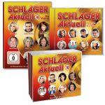Schlager Aktuell 10 + DVD & Schlager Aktuell - Die größten Hits aller Zeiten