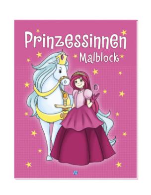 Prinzessinnen-Malblock