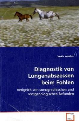 Diagnostik von Lungenabszessen beim Fohlen