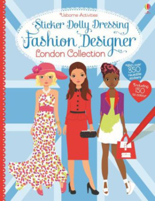 Sticker Dolly Dressing Fashion Designer London Collection