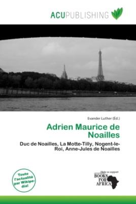 Adrien Maurice de Noailles