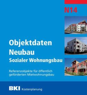 BKI Objektdaten Neubau N14 Sozialer Wohnungsbau