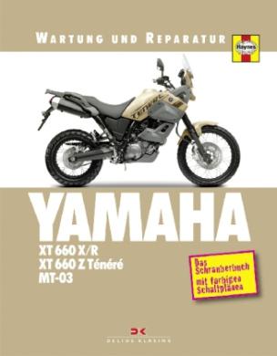 Yamaha XT 660 X/R, XT 660 Z Ténéré & MT-03