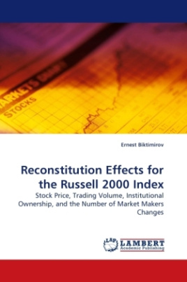 Reconstitution Effects for the Russell 2000 Index