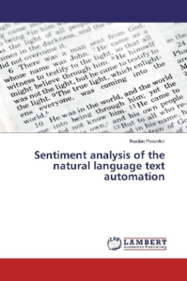 Sentiment analysis of the natural language text automation