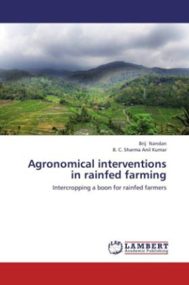 Agronomical interventions in rainfed farming