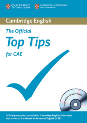 The Official Top Tips for CAE, w. CD-ROM