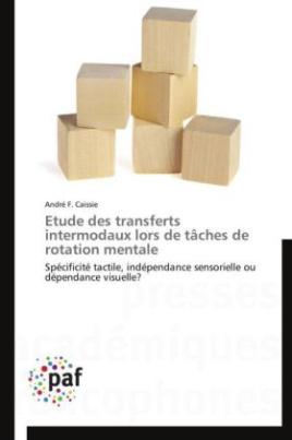 Etude des transferts intermodaux lors de tâches de rotation mentale