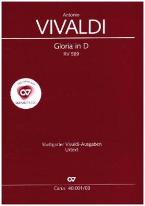 Gloria D-Dur RV 589, Klavierauszug
