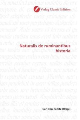 Naturalis de ruminantibus historia