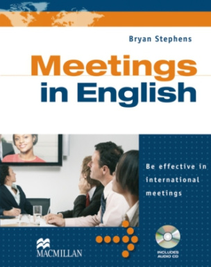 Meetings in English, Student's Book w. Audio-CD