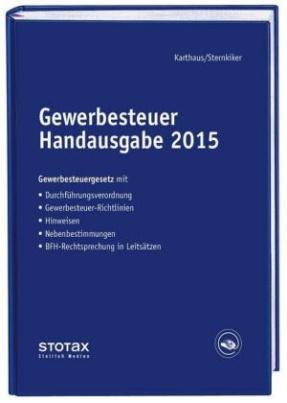 Gewerbesteuer Handausgabe 2015