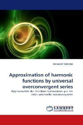 Approximation of harmonic functions by universal overconvergent series