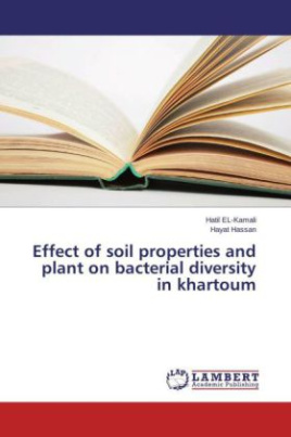 Effect of soil properties and plant on bacterial diversity in khartoum