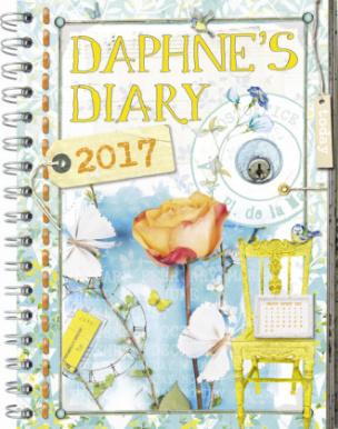 Daphne's Diary - Taschenkalender 2017