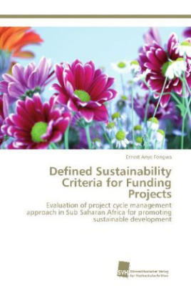 Defined Sustainability Criteria for Funding Projects
