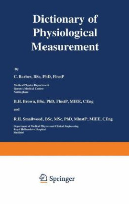 Dictionary of Physiological Measurement