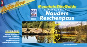 bikeline MountainBikeGuide Nauders, Reschenpass