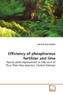 Efficiency of phosphorous fertilizer and lime
