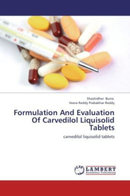 Formulation And Evaluation Of Carvedilol Liquisolid Tablets