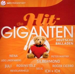 Die Hit Giganten-Deutsche Balladen