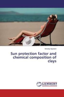Sun protection factor and chemical composition of clays